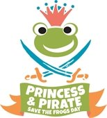 Princess & Pirate Save the Frogs Day